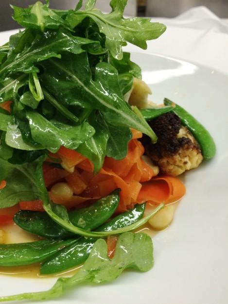 "Vegan Carrot ""Pappardelle"""