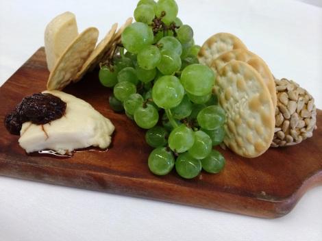 Vegan Cheese Plate  -Fall Menu 2014-