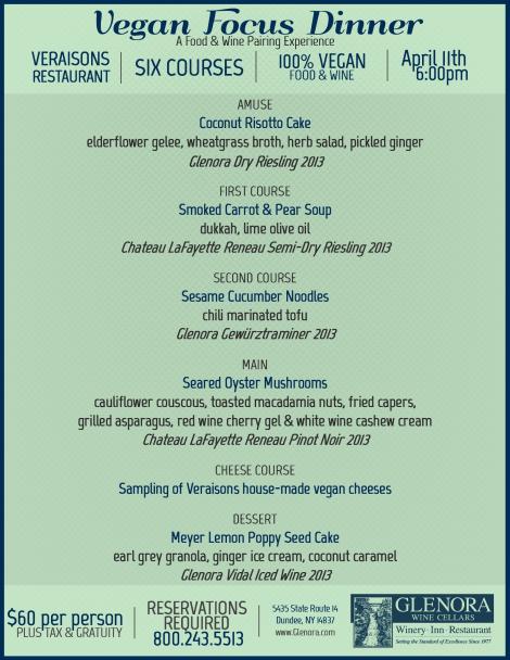 Vegan Dinner 2015 FINAL